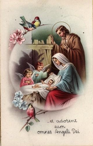 Cartoline Di Natale Depoca.Cartoline E Letterine Augurali D Epoca Il Presepio Com