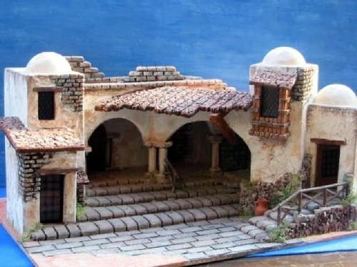 Architetture e paesaggi di stile orientale serie - Fai da te presepe casa ...