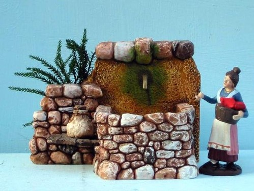 Cascate fontane e mulini per presepi tradizionali e for Fontana presepe fai da te
